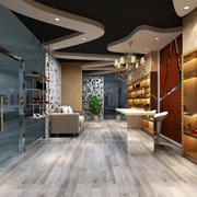 鞋店个性吊顶设计
