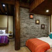 双人卧室复古设计