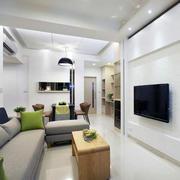 大户型欧式硅藻泥电视背景墙装修效果图实例