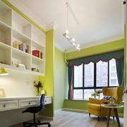 三居室家庭书房书柜展示