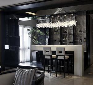 100平米大户型欧式风格餐厅吧台装修效果图