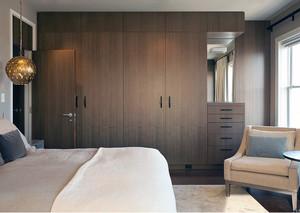 都市三居室享受室内实木衣柜效果图设计鉴赏