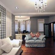 100平米欧式风格大户型房屋客厅装修效果图