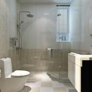 三居室家庭卫生间欣赏