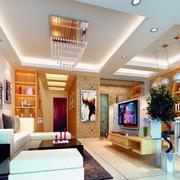 2016大户型欧式客厅装修效果图实例欣赏