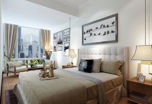 2016三房两厅简约现代家庭装修设计效果图