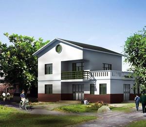 2016精致大方的农村平房房屋设计效果图大全