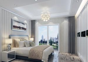 大户型现代简约卧室吊顶装修风格效果图鉴赏