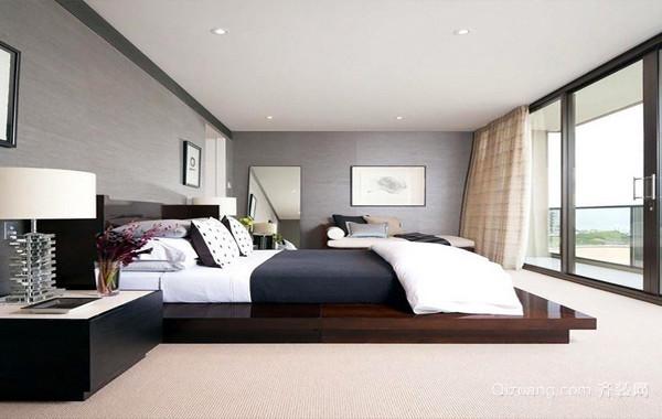 单身公寓后现代简约卧室装修风格装修图