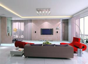60平米小户型欧式电视机背景墙设计装修效果图