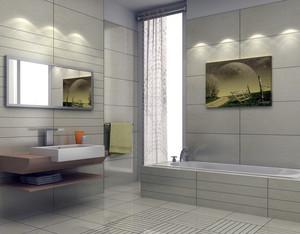 2016大户型欧式风格家庭卫生间装修效果图片