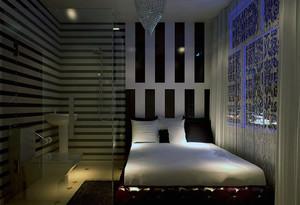 2016都市精致的宾馆卧室室内装修效果图实例