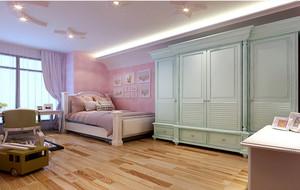 卧室简欧白色衣柜
