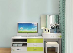春天的颜色:现代电视组合柜装修图片