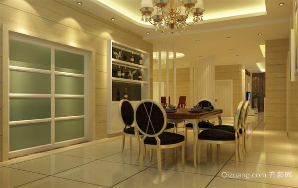 小户型欧式家居室内餐厅吊顶装修设计效果图