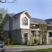 乡村房屋模板设计