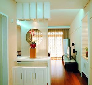 三居室现代风格家装精致隔断设计效果图