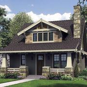 精致的屋顶造型图