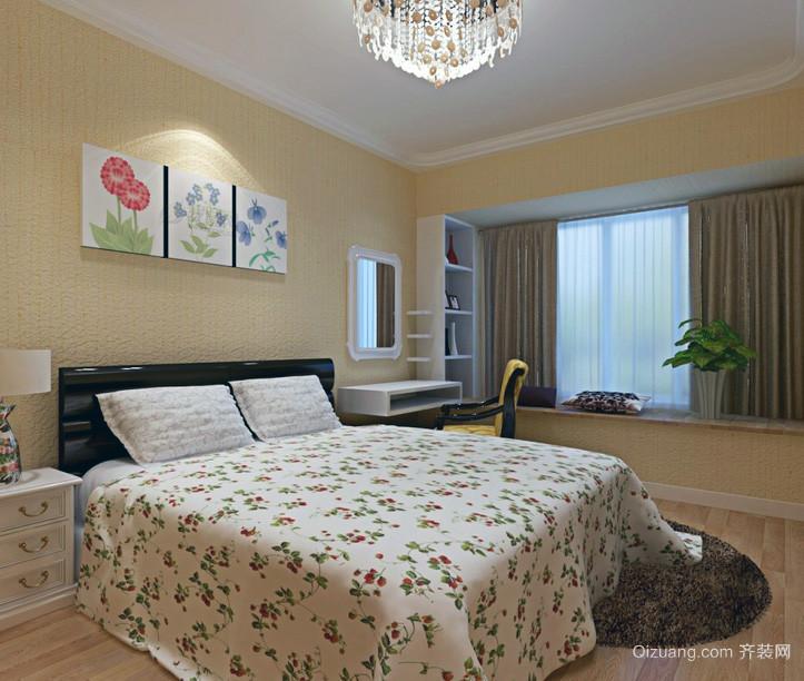 现代大户型儿童卧室手绘墙装修效果图鉴赏