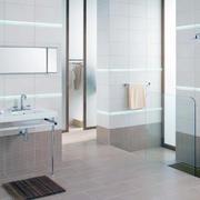 2016别墅型欧式风格洗手间地砖装修效果图