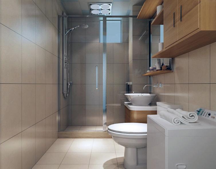 2016欧式小户型家庭卫生间装修效果图实例
