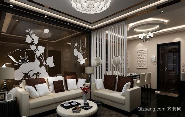 大户型别墅后现代主义风格客厅装修图