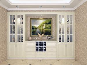 90平米大户型欧式风格酒柜装修效果图实例