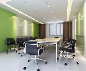 都市优雅的办公室空间设计装修效果图欣赏