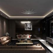 后现代客厅舒适沙发