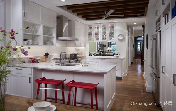 60平米小户型欧式风格厨房装修效果图实例