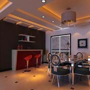 后现代风格精致餐厅图片