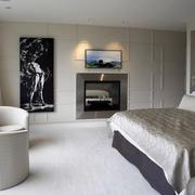 大方得体后现代卧室