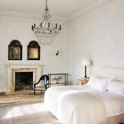 复式楼白色卧室图片