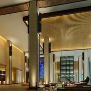 宾馆大厅豪华装饰