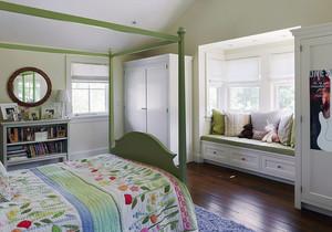 100平米大户型欧式风格客厅飘窗装修效果图