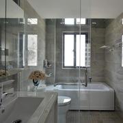 100平米房屋卫生间设计