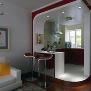 别墅型欧式风格室内吧台装修效果图鉴赏