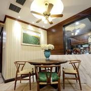 东南亚小餐厅餐桌椅