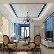 房屋客厅时尚吊顶欣赏