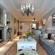 房屋客厅美丽吊灯欣赏