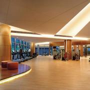 高级度假村温馨大户型健身房装修效果图