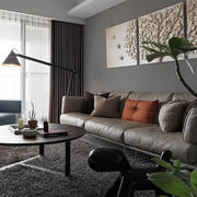 100平米家居客厅装饰