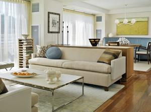 朴素现代小户型家居客厅装修图片