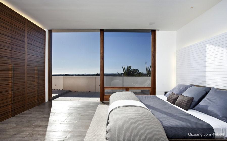 简约现代复式楼家居卧室装修图片