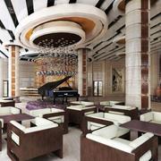 宾馆大厅浪漫装饰