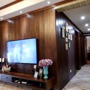东南亚电视背景墙