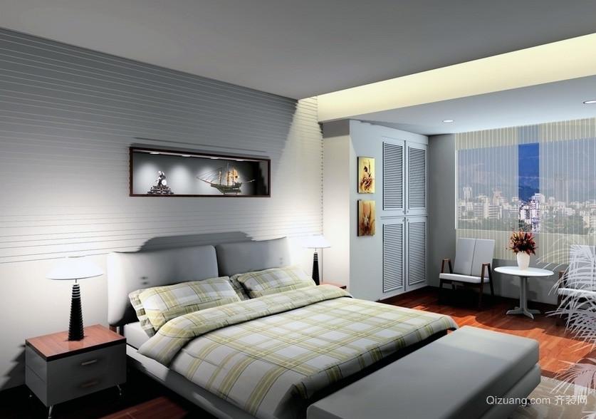 2016小户型欧式风格卧室装修效果图实例欣赏