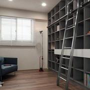 100平米家居书房书柜展示
