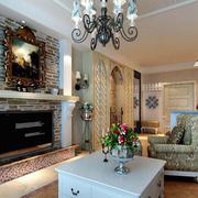 房屋优美客厅装饰