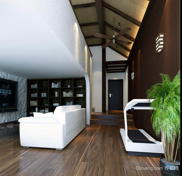 2016小户型欧式风格阁楼装修效果图实例大全